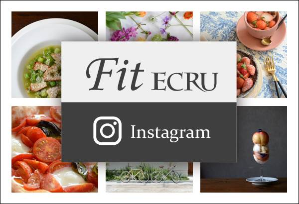 Fit ECRU instagram